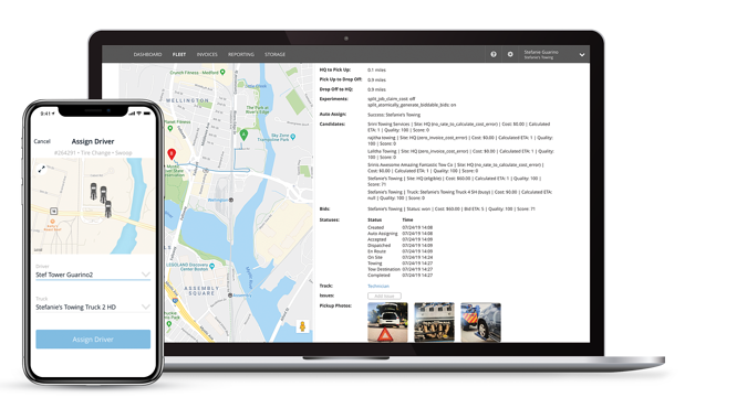 Swoop Dispatch Management Platform